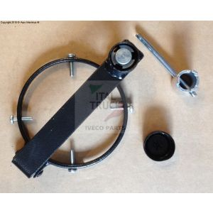 Zabezpieczenie wlewu paliwa Fi 80mm - klucz