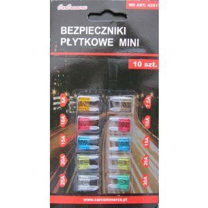 Bezpieczniki Mini blister od 5 do 30 A