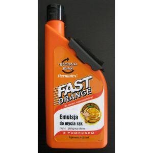 Pasta do rąk Fast Orange 440ml ze szczoteczką w kpl Gratis